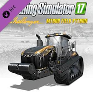 Farming Simulator 17 Challenger MT800E Field Python