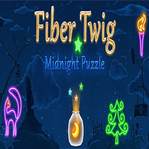 Fiber Twig Midnight Puzzle
