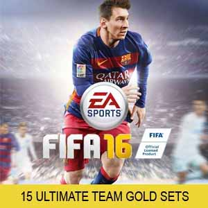 Buy FIFA 16 15 Ultimate Team Gold Sets PS4 Game Code Compare Prices