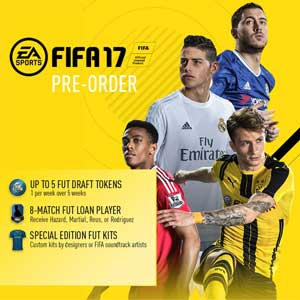 Buy FIFA 17 Preorder Bonus PS4 Game Code Compare Prices