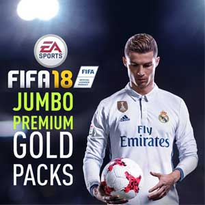 FIFA 18 Jumbo Premium Gold Packs