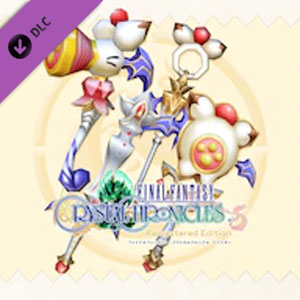 FINAL FANTASY CRYSTAL CHRONICLES Moogle Weapon Pack