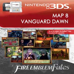 Fire Emblem Fates Map 8 Vanguard Dawn