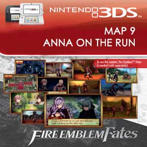 Fire Emblem Fates Map 9 Anna on the Run