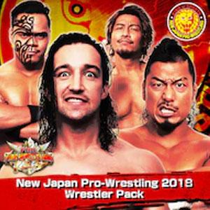 Fire Pro Wrestling World New Japan Pro-Wrestling 2018 Wrestler Pack