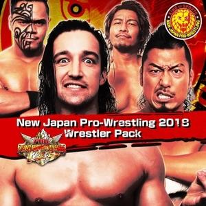 Fire Pro Wrestling World NJPW 2018 Wrestler Pack