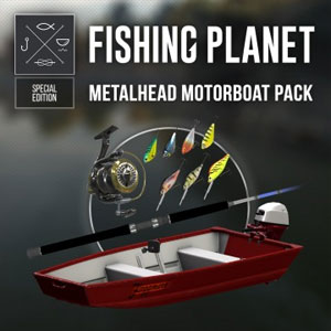 Fishing Planet Metalhead Motorboat Pack