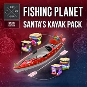 Fishing Planet Santa's Kayak Pack