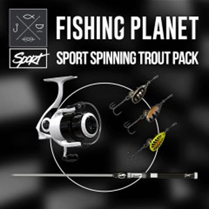 Fishing Planet Sport Spinning Trout Pack