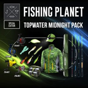 Fishing Planet Topwater Midnight Pack