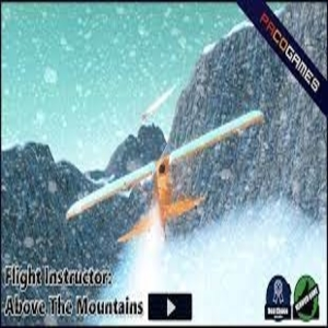 Flight Instructor Above The Mountains