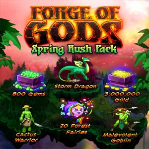 Buy Forge of Gods Spring Rush Pack CD Key Compare Prices