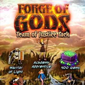 Forge of Gods Team of Justice Pack