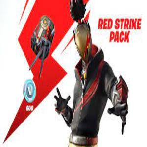 Fortnite Battle Royale The Red Strike Pack