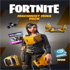 Fortnite Machinist Mina Pack