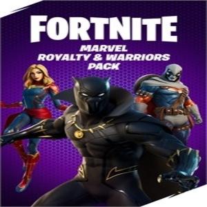 Fortnite Marvel Royalty & Warriors Pack