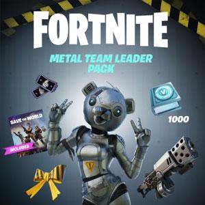 Fortnite Metal Team Leader Pack