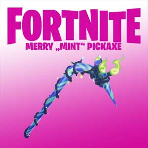 Fortnite Minty Pickaxe Skin