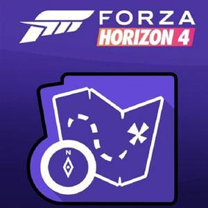 Forza Horizon 4 Treasure Map