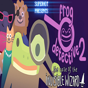 Frog Detective 2 The Case of the Invisible Wizard