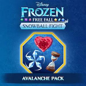 Frozen Free Fall Snowball Fight Blizzard