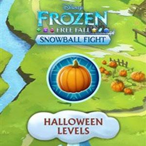 Frozen Free Fall Snowball Fight Halloween Levels