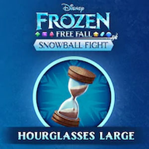 Frozen Free Fall Snowball Fight Large Pack of Hourglasses