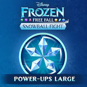 Frozen Free Fall Snowball Fight Large Pack of Power-ups