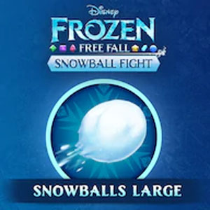 Frozen Free Fall Snowball Fight Large Pack of Snowballs