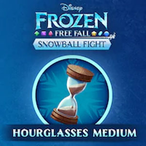 Frozen Free Fall Snowball Fight Medium Pack of Hourglasses