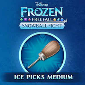 Frozen Free Fall Snowball Fight Medium Pack of Ice Picks