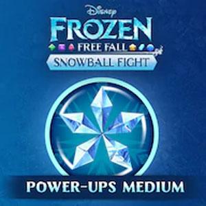 Frozen Free Fall Snowball Fight Medium Pack of Power-ups