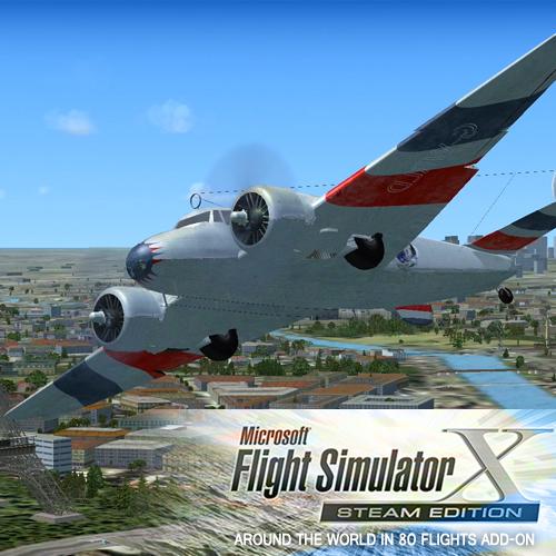 FSX Steam Edition Around The World In 80 Flights Add-On