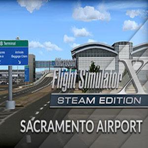 FSX Steam Edition Sacramento Airport Add-On