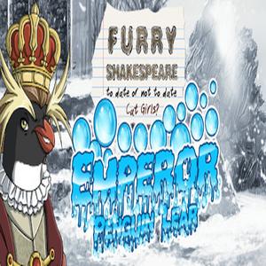 Furry Shakespeare Emperor Penguin Lear