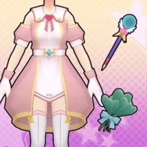 Gal*Gun Double Peace Revitalizing Cleric Costume Set