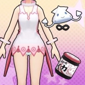 Gal*Gun Double Peace Youre a Squid Now Costume Set