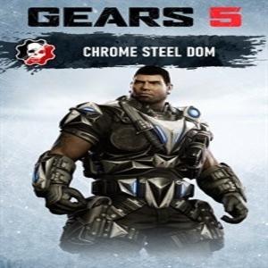 Gears 5 Chrome Steel Dom