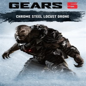 Gears 5 Chrome Steel Locust Drone