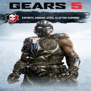 Gears 5 Esports Chrome Steel Clayton Carmine