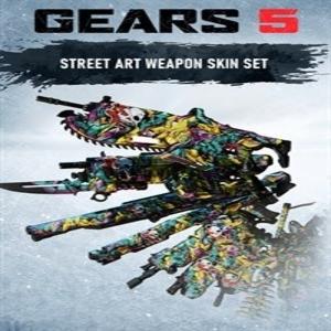 Gears 5 Street Art Full Weapon Set