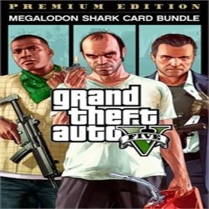Grand Theft Auto 5 Premium Edition & Megalodon Shark Card Bundle