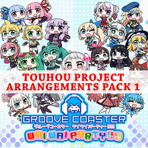 GROOVE COASTER WAI WAI PARTY Touhou Project Arrangements Pack 1