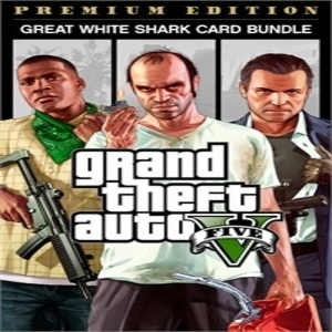 Buy GTA 5 Premium Edition & Great White Shark Card Bundle Xbox One Compare Prices