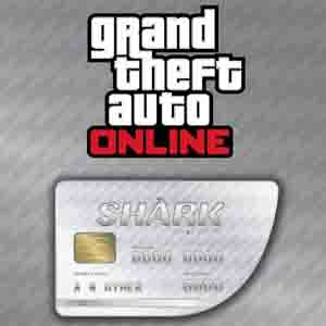 Buy GTAO Great White Shark Cash Card GameCard Code Compare Prices