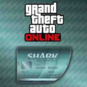 Buy GTAO Megalodon Shark Cash Card GameCard Code Compare Prices