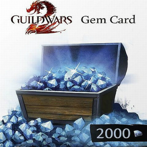 Buy Guild Wars 2 GEMS 1200 GameCard Code Compare Prices