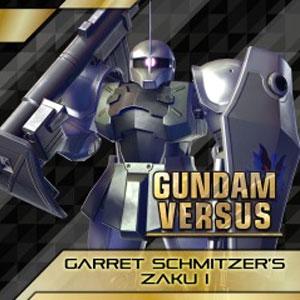 GUNDAM VERSUS Garret Schmitzer's Zaku 1