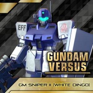 GUNDAM VERSUS GM Sniper 2 White Dingo