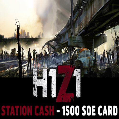 Buy H1Z1 Station Cash 1500 SoE GameCard Code Compare Prices